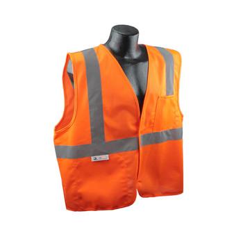 Radians Class 2 Economy Solid Safety Vest - Orange - SV2OS