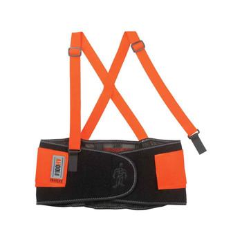 Ergodyne ProFlex 100HV 2XL Orange Economy Hi-Vis Back Support