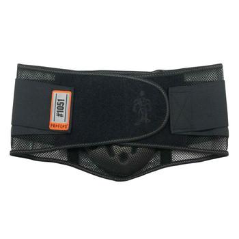 Ergodyne ProFlex 1051 L Black Mesh Back Support w/Lumbar Pad