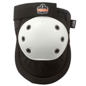 Ergodyne ProFlex 300HL  White Cap Rounded Cap Knee Pad - H&L
