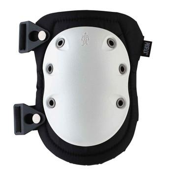 Ergodyne ProFlex 315  White Cap Long Textured Hard Cap Knee Pad - Buckle