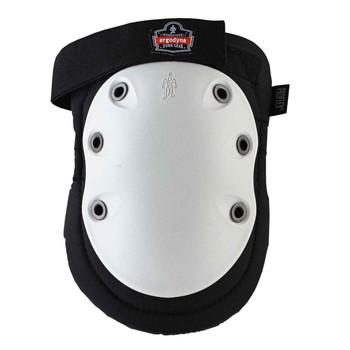 Ergodyne ProFlex 315HL  White Cap Long Textured Hard Cap Knee Pad