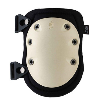 Ergodyne ProFlex 325  Tan Cap Non-Marring Rubber Cap Knee Pad - Buckle
