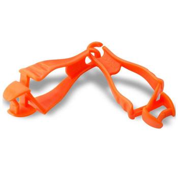 Ergodyne Squids 3400-BULK  Orange Grabber - Dual Clip Mount - 100-Pack