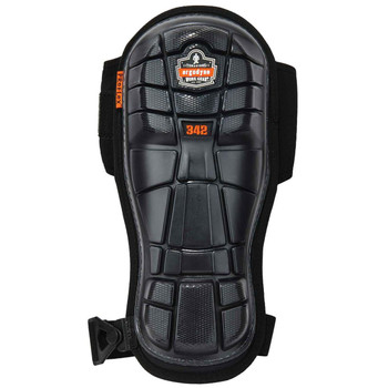 Ergodyne ProFlex 342  Black Extra Long Cap Injected Gel Knee Pad