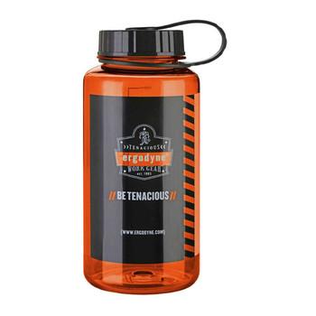 Ergodyne Chill-Its 5151 1 ltr Orange Plastic Wide Mouth Water Bottle