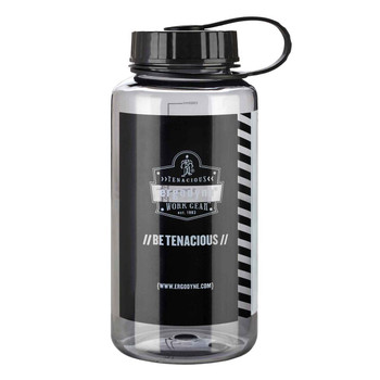 Ergodyne Chill-Its 5151 1 ltr Gray Plastic Wide Mouth Water Bottle