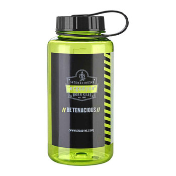 Ergodyne Chill-Its 5151 1 ltr Lime Plastic Wide Mouth Water Bottle