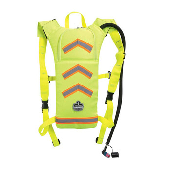 Ergodyne Chill-Its 5155 2 ltr Lime Hi-Vis Low Profile Hydration Pack