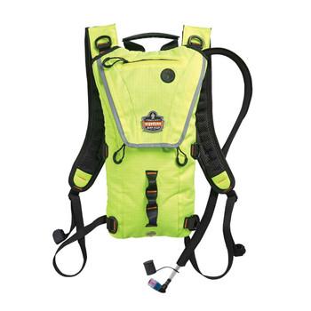 Ergodyne Chill-Its 5156 3 ltr Hi-Vis Lime Premium Low Profile Hydration Pack