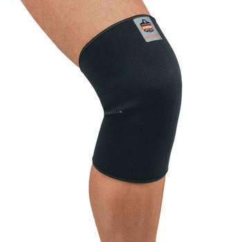 Ergodyne ProFlex 600 L Black Single Layer Neoprene Knee Sleeve