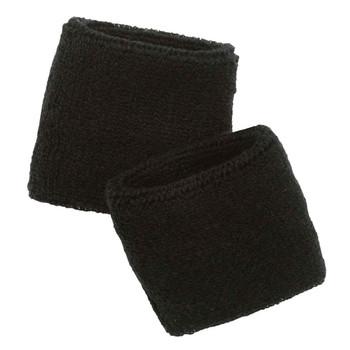 Ergodyne Chill-Its 6500  Black Wrist Sweatband