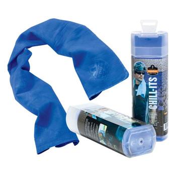 Ergodyne Chill-Its 6602  Blue Evaporative Cooling Towel