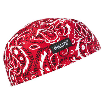 Ergodyne Chill-Its 6630  Red Western High-Performance Cap
