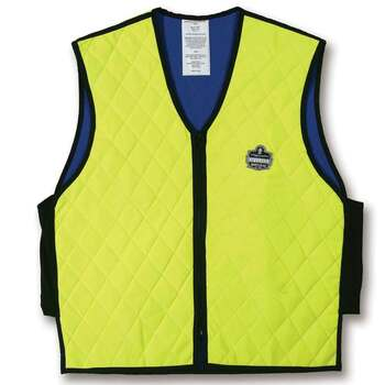 Ergodyne Chill-Its 6665 2XL Lime Evaporative Cooling Vest