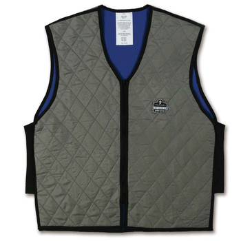 Ergodyne Chill-Its 6665 L Gray Evaporative Cooling Vest