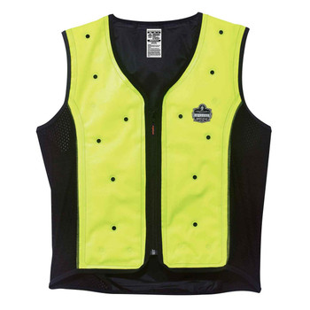 Ergodyne Chill-Its 6685 XL Lime Dry Evaporative Cooling Vest