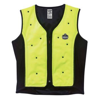 Ergodyne Chill-Its 6685 M Lime Dry Evaporative Cooling Vest
