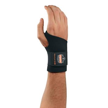 Ergodyne ProFlex 670 L Black Ambidextrous Single Strap Wrist Support