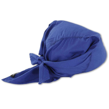 Ergodyne Chill-Its 6710  Solid Blue Evaporative Cooling Triangle Hat