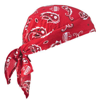 Ergodyne Chill-Its 6710  Red Western Evaporative Cooling Triangle Hat