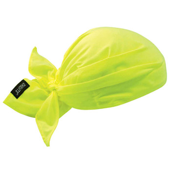 Ergodyne Chill-Its 6710  Lime Evaporative Cooling Triangle Hat