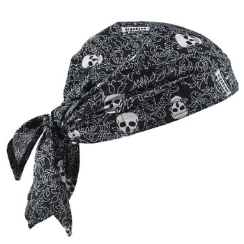 Ergodyne Chill-Its 6710CT  Skulls Evap. Cooling Triangle Hat w/CT