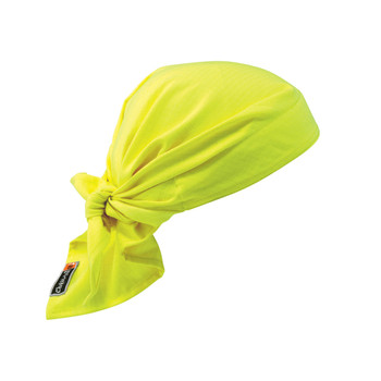 Ergodyne Chill-Its 6710FR  Lime Evap. FR Cooling Triangle Hat