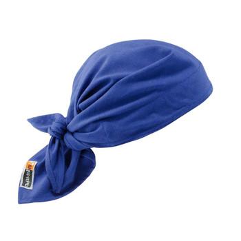 Ergodyne Chill-Its 6710FR  Blue Evap. FR Cooling Triangle Hat
