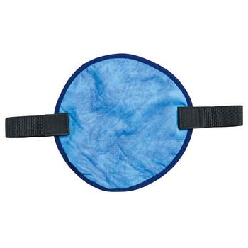 Ergodyne Chill-Its 6715CT  Blue Evaporative Hard Hat Pad w/ Cooling Towel