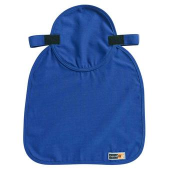 Ergodyne Chill-Its 6717FR  Blue Evap. FR Hard Hat Neck Shade w/ Polymers