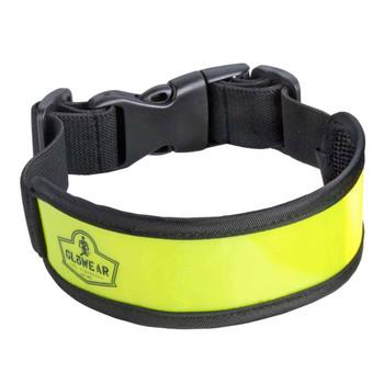 Ergodyne GloWear 8003  Lime Arm/Leg Band - Buckle Closure