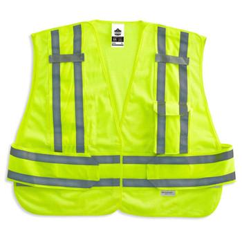 Ergodyne GloWear 8244PSV 3XL+ Lime Type P Class 2 Expandable Public Safety Vest