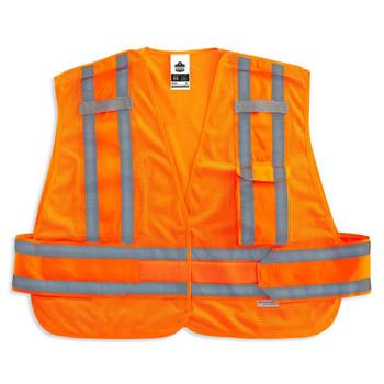Ergodyne GloWear 8244PSV 3XL+ Orange Type P Class 2 Expandable Public Safety Vest