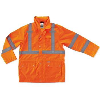 Ergodyne GloWear 8365 2XL Orange Type R Class 3 Rain Jacket
