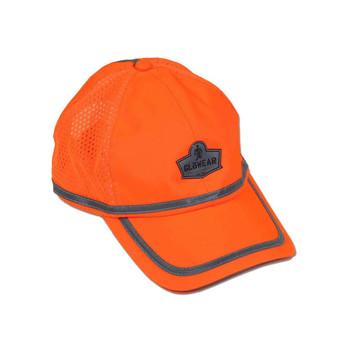 Ergodyne GloWear 8930  Orange Hi-Vis Baseball Cap