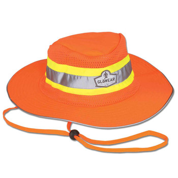 Ergodyne GloWear 8935 S/M Orange Hi-Vis Ranger Hat