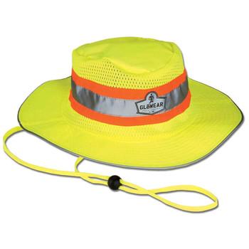 Ergodyne GloWear 8935 L/XL Lime Hi-Vis Ranger Hat