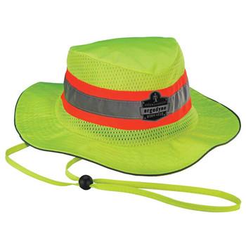 Ergodyne Chill-Its 8935MF L/XL Lime Evap. Ranger Hat w/ MF