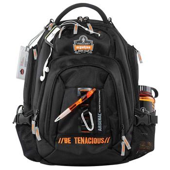 Ergodyne Arsenal GB5144  Black Mobile Office Backpack