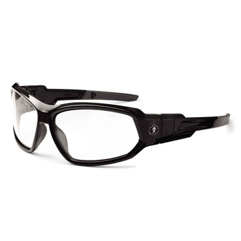 Ergodyne Skullerz LOKI Clear Lens Black Safety Glasses // Goggles