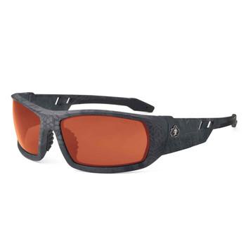 3764d8ca6c8 Ergodyne Skullerz ODIN Polarized Copper Lens Kryptek Typhon Safety Glasses