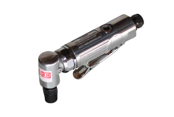 Heavy Duty small Air Powered Right Angle Sander Motor for use with 2 inch or 3 inch Dust Collection Attachments