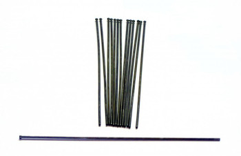 Heavy Duty 2mm x 7 inch Flat Tip Needles - pack of 53