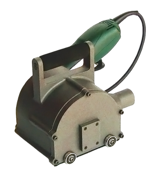 Heavy Duty 4 inch Rotopeen Electric Shrouded Power Tool (without Hub Assembly not for use with cutter hub assembly)