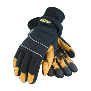 PIP Maximum Safety Thinsulate Lined Winter Glove with Waterproof Barrier and Goatskin Leather Palm - 120-4800