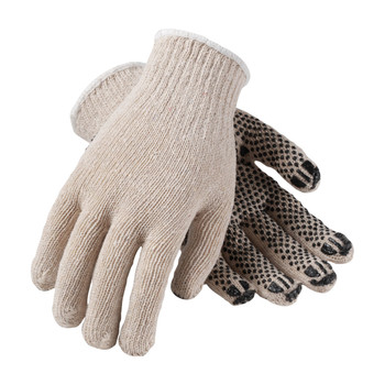 PIP PIP Seamless Knit Cotton / Polyester Glove with PVC Dot Grip - Heavy Weight - 36-C330PD