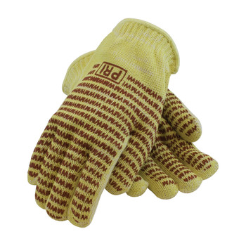 PIP Kevlar / Cotton Seamless Knit Hot Mill Glove with Cotton Liner and Double-Sided EverGrip Nitrile Coating - 24 oz - 43-552