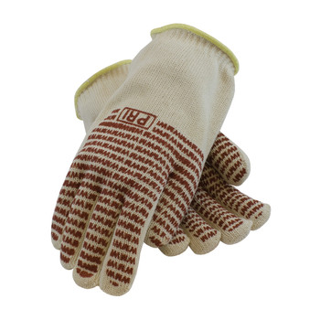 PIP Double-Layered Cotton Seamless Knit Hot Mill Glove with Double-Sided EverGrip Nitrile Coating - 32 oz - 43-802