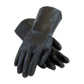"""PIP ChemGrip Neoprene Coated Glove with Interlock Liner and Etched Rough Finish - 12"""" - 57-8630R"""